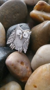 Owl Fingerprint Necklace