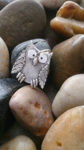 Owl Fingerprint Necklace