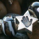 handprint star bead fits pandora