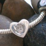 handprint bead fits pandora heart