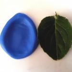leaf used to create fingerprint jewellery