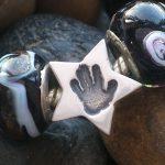 handprint bead fits pandora star