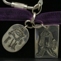 Set of 2 Artwork Jewellery charms