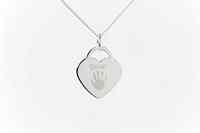 Engraved Heart Charm,  One child