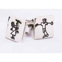Personalised Cufflinks with drawings