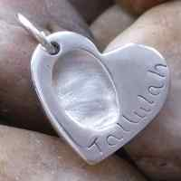Fingerprint Jewellery Necklace Charm