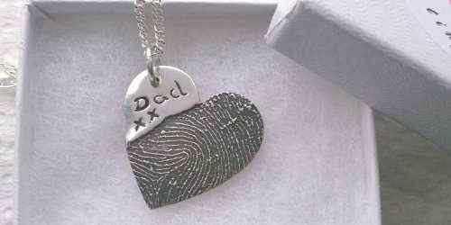 Ink Fingerprint jewellery