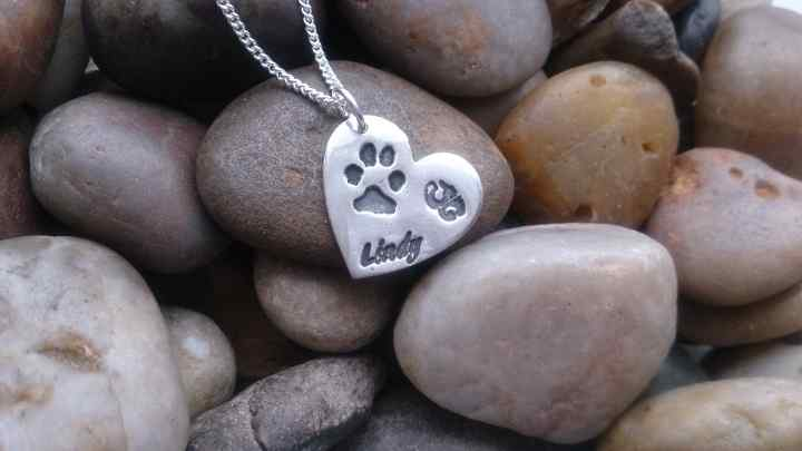 Pet Paw and nose print Jewellery