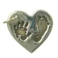Hand and Footprint Jewellery Charm