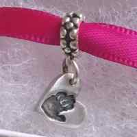 Hand or Footprint bracelet  Charm (fits pandora)